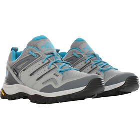 The North Face Hedgehog Fastpack II WP Shoes Women griffin grey/caribbean sea